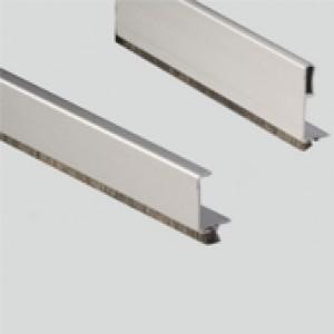Aluminium Profile Edge/Handle for Wardrobe Sliding