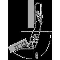 155° Hinge - Zero Protrusion (Soft Close)