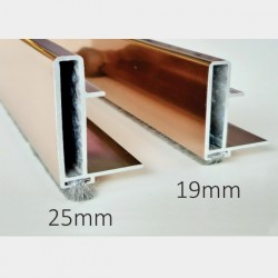 Aluminium Profile Handle for Wardrobe Sliding 2