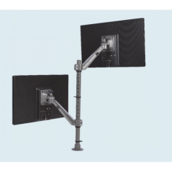 Flat Screen Holder - Single Arm Twin