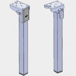 Folding Legs for Wall Bed Fittings