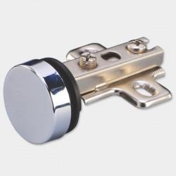 Glass Door Hinge - Ø26mm