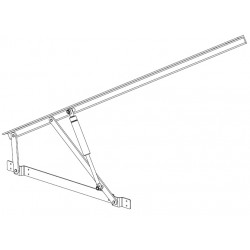 Pro-Lift Bed Fitting Easy Fit - Extended Arm Heavy Duty