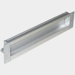 Shutter Handle Square - Aluminium 3012