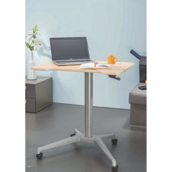 Smart Lift Single Leg - Gas Lift Center Pole (with Table Top)