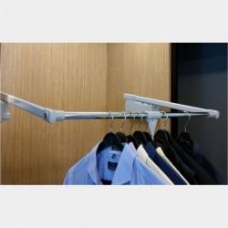 Wardrobe Lift Side Mount - 10 Soft Close