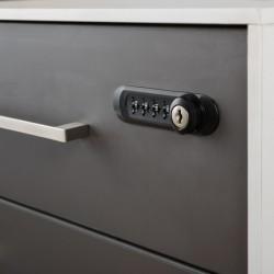 Combination lock 4 digit - Pedestal