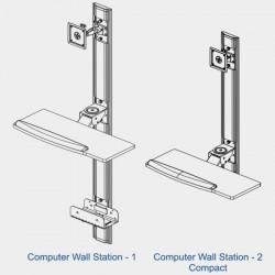 Computer Wall Station