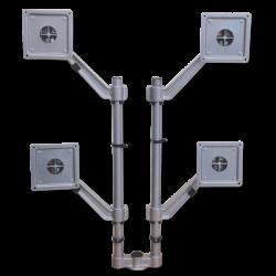 Flat Screen Holder - Quadruple Arm