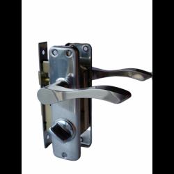 Mortise Door Lock Set2 - Eco (Keyless, SS Plate) MDLS2-EL/R