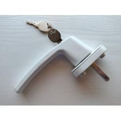 Mortise Window Handle - with Lock 3