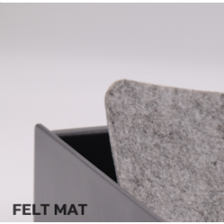 Safe Drawer Mini - Top Mount Double with Felt Mat