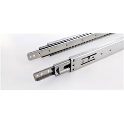 Sleek Telescopic Drawer Slides - 35Kg. (SS304)