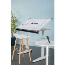 Smart Lift Drawing Table - Gas Lift (With Table Top)
