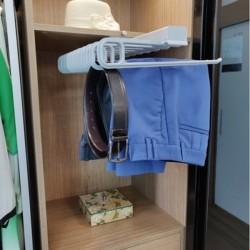 Wardrobe Pullout Hanger - Trouser / Saree - Single