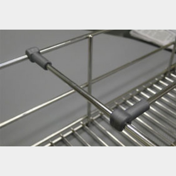 Ebco Kitchen Accessories Catalogue: Partition Rod For Basket With Clip Cutlery Basket Kitchen