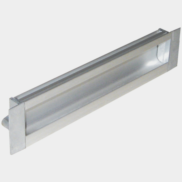 Shutter Handle Square - Aluminium 3012
