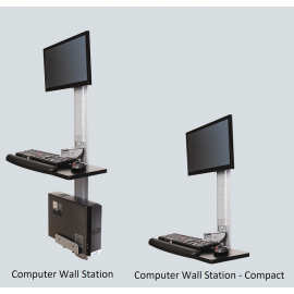 Computer Wall Station