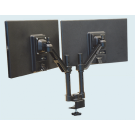 Flat Screen Holder Double Arm-Edge Mount