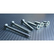Pozi Recess CSK Head Screw with SAW Threads