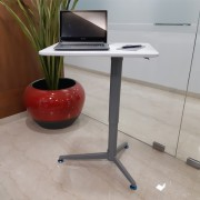 Smart Lift Single Leg-Gas Lift Side Pole (with table top)