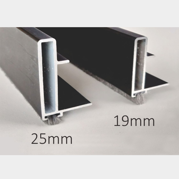 Aluminium Profile Handle for Wardrobe Sliding 2