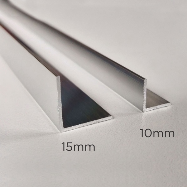 Aluminium Profile Decorative 'L'