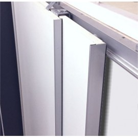 Aluminium Profile Handle/ Edge for Wardrobe Sliding - 19 / 25 mm