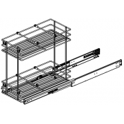 Bottom Mounting Pullout Basket