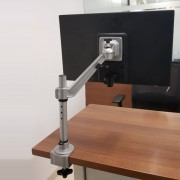 Flat Screen Holder Single Arm - Edge Mount