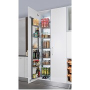 Kitchen Pantry Unit - Soft Close Mechanism & SS304 Basket