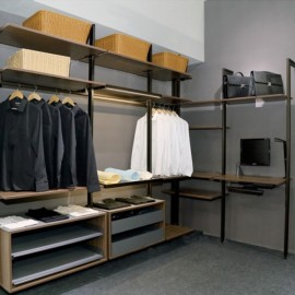 Pole Shelving System