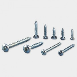 Pozi Recess Pan Head Chipboard Screws