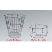 Shutter Bin Basket / Holder