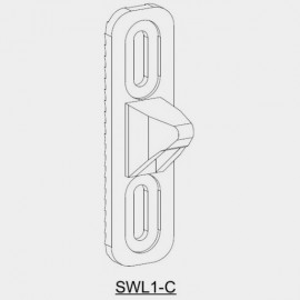 Sliding Window Latch - Receiver Plate