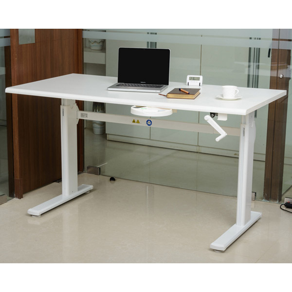 Ergonomical Height Adjustable Smart Table Electric Table Manual Leg