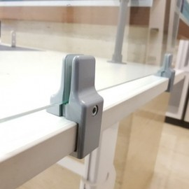 Table Partition Clamp - Edge Mount