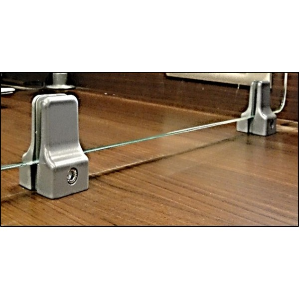Table Partition Clamp Top Mount