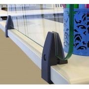 Table Partition Clamp Slim - Edge Mount
