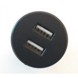 USB Charger - Furniture Mount (Circular)