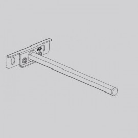 Wall Shelf Rod Adjustable
