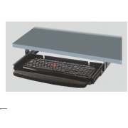 Computer Keyboard Tray Full Extension - Soft Pad - Without Mouse Tray