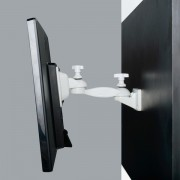 Flat Screen Holder Extended Arm - Wall Mount