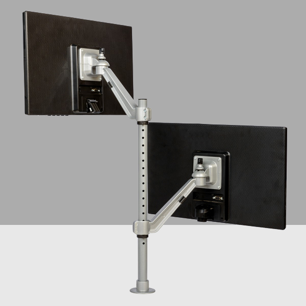 Flat Screen Holder - Single Arm Twin
