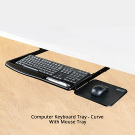 Computer Keyboard Tray - Curve