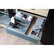 MakeUp Drawer Container and Tray