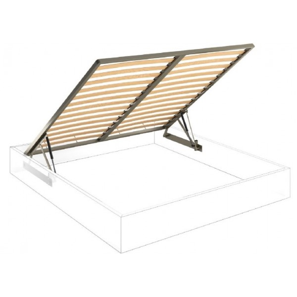 Premium Pro-Lift Bed System (Lift System, Frame with Slats and Mounting Bracket Kit)