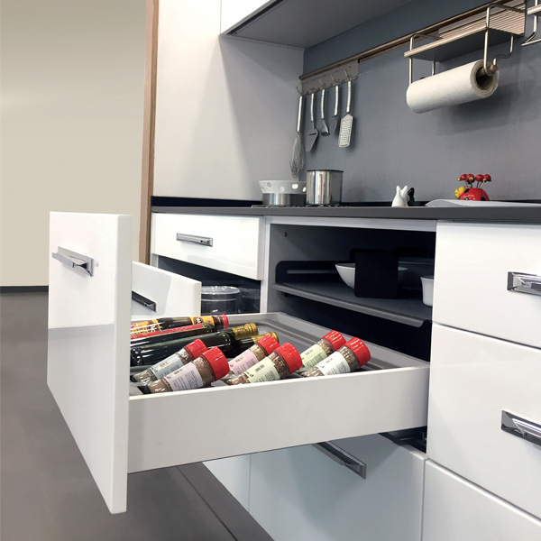 Ebco Kitchen Accessories Catalogue: Pro-motion Drawer System 90