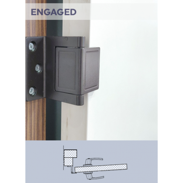 Security Door Latch
