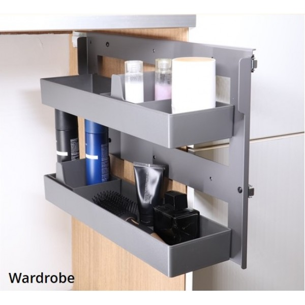 Side Pullout Organizer - 2 Tier